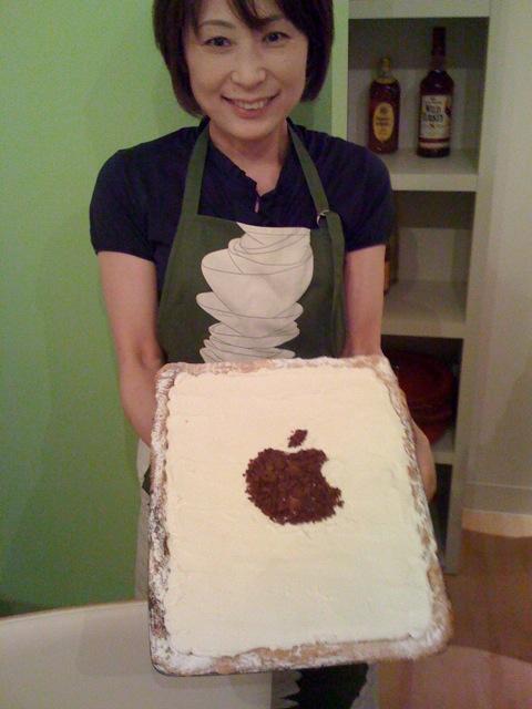 Apple印のアップルパイ
